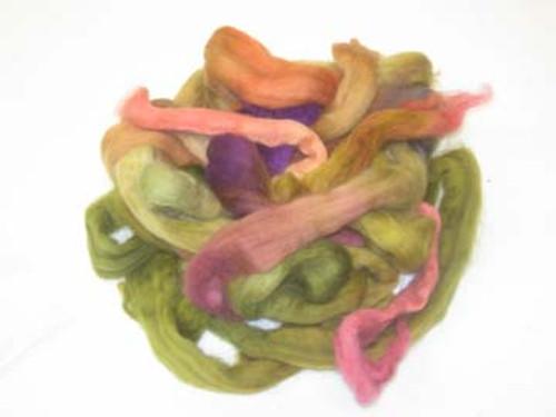 Wool Grab Bag in Leafy tones