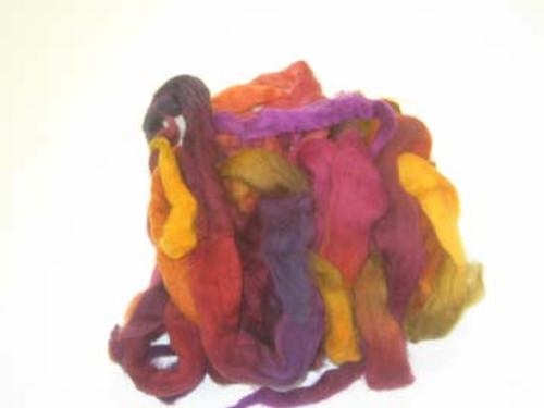 Wool Grab Bag in Sunset tones