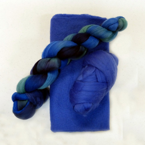 Cornflower Ruffle Scarf Kit