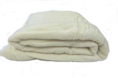 Merino wool batt in natural color