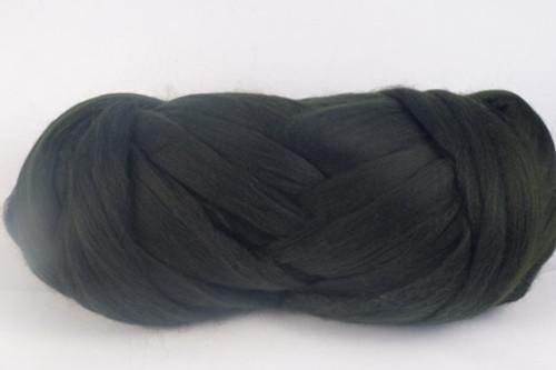 Pinon--Our darkest pine green.  18.5 micron Merino Wool Tops.