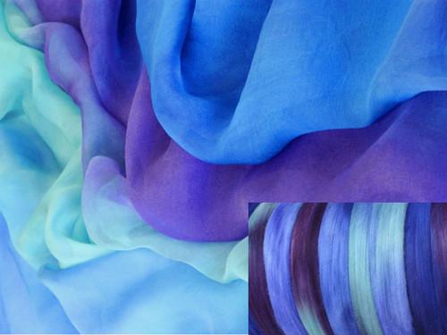 Silk Gauze Neck-Knack Felting Kit--Rhythm 'n Blues