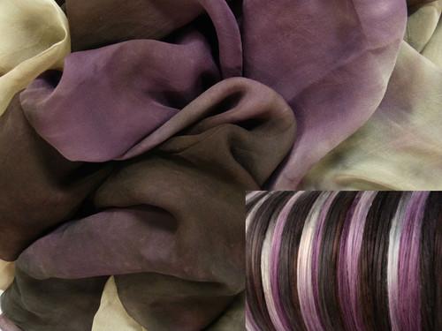 Silk Gauze Neck-Knack Felting Kit--Truffles
