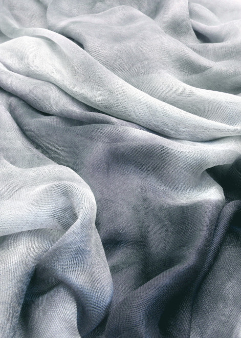 Silk mesh fabric. Open weave, lightweight,  lustrous. Snowy Owl color