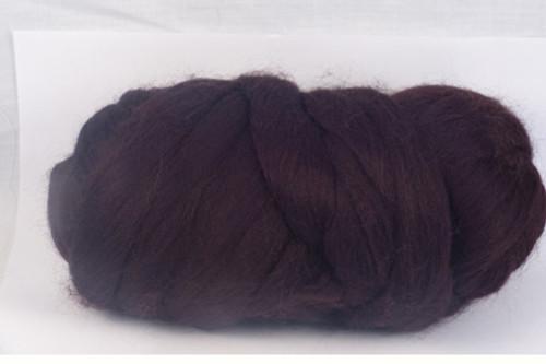 Newcastle Ale--Black coffee - dark Lindt chocolate.  22 micron Merino Wool Tops.