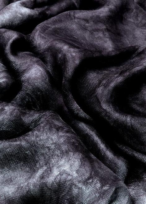 Silk mesh fabric. Open weave, lightweight,  lustrous. Silverback color