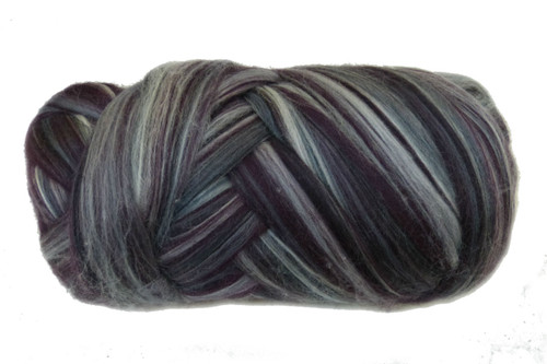 Merino wool blend. Color is Bush Baby