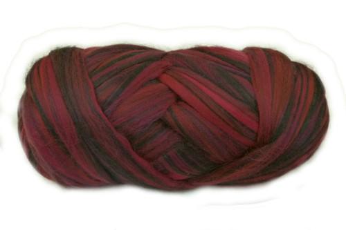 Merino wool blend. Color is Yalumba