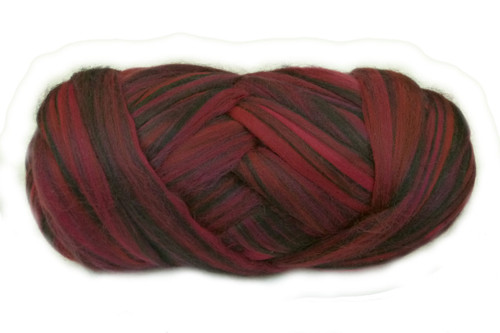 Merino wool blend. Color is Yalumba