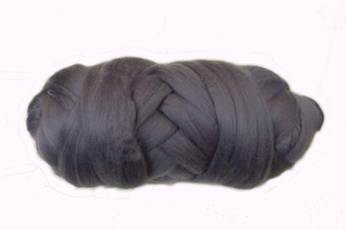 Bushland--Lavender grey.  18.5 micron Merino Wool Tops.