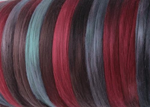 Merino Harmonies.  18.5 micron Merino Wool Tops
