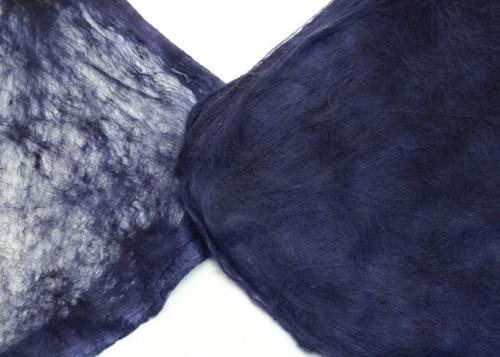 Silk hankies. This solid color is Royal Indigo