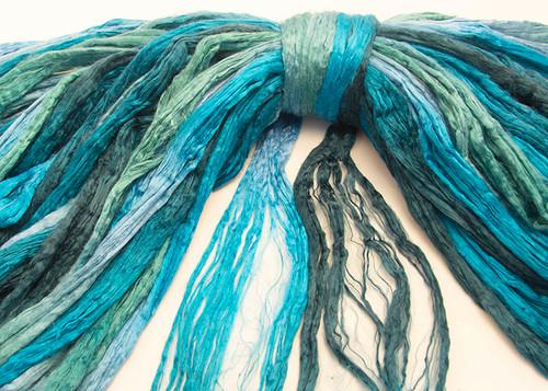Seri silk tops in Southern Seas  color.