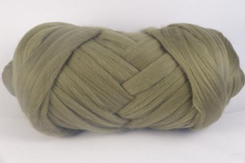 Sagebrush--Soft grey/green.  18.5 micron Merino Wool Tops.