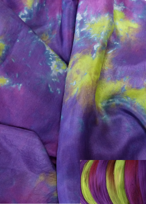 Habotai silk fabric-Grapevine