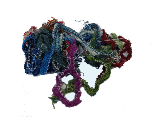 Knitted cotton strand