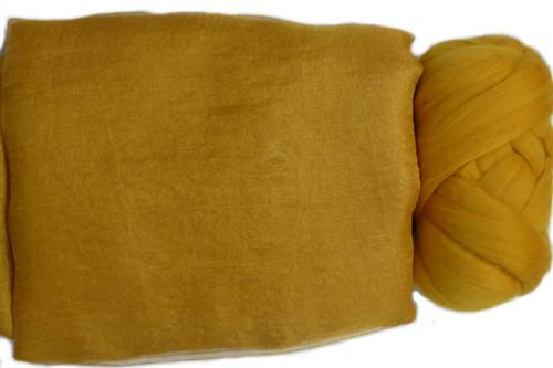 Butterfly Silk | Margilan Dyed Silk--Butterscotch 9 yds (BUT-59)