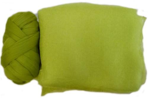 Butterfly Silk | Margilan Dyed Silk--Chartreuse 9 yds (CHAR-61)