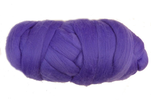 Thistle--That bright bloom of a Scottish thistle.  18.5 micron Merino Wool Tops.