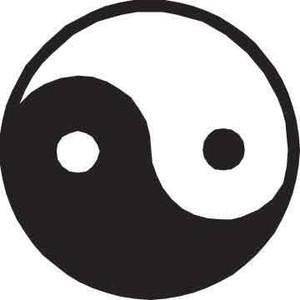 Yin Yang Decal