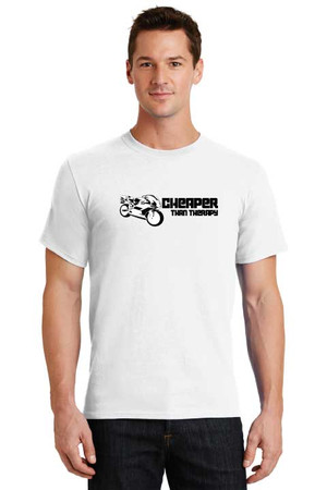 Cheaper Than Therapy Sportbike T Shirt