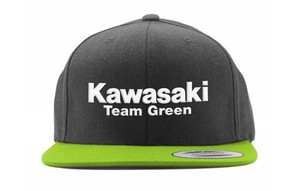 FACTORY EFFEX KAW TEAM GREEN 2 SNAPBACK HAT/ BLACK-GREEN MESH OS