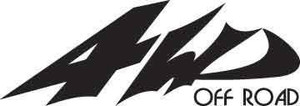 4WD Off Road Decal