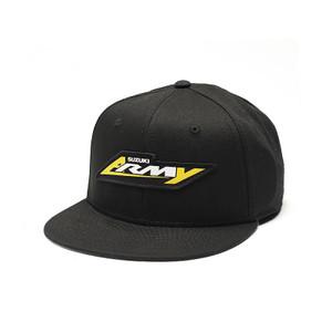 FACTORY EFFEX SUZUKI ARMY YOUTH SNAPBACK HAT /BLACK OS