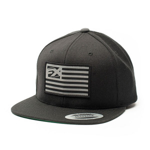 FACTORY EFFEX FX FLAG SNAPBACK HAT