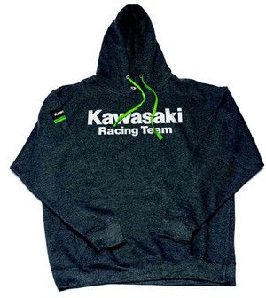 FACTORY EFFEX KAWASAKI TEAM PULLOVER/CHARCOAL