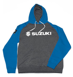 FACTORY EFFEX SUZUKI HORIZON PULLOVER/ CHARCOAL-ROYAL