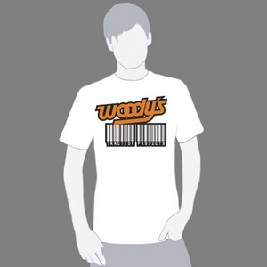 Woody's Bar Code T-shirt