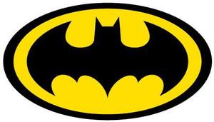 Printed Batman Logo Decal
