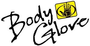 Printed Body Glove Logo Decal
