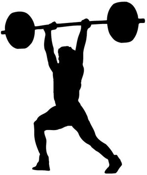 Weightlifter Decal 1