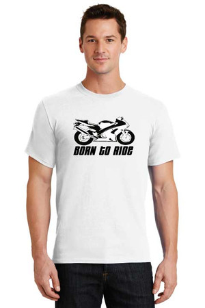 Born To Ride Sportbike T Shirt