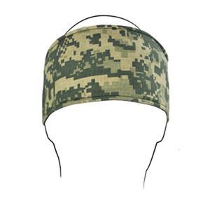 HEADBAND W/ FLEECE, COTTON, U.S. ARMY, DIGITAL ACU CAMO