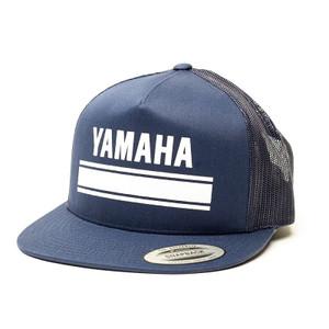 FACTORY EFFEX YAMAHA LEGEND SNA PBACK HAT / BLACK-GREY MESH OS