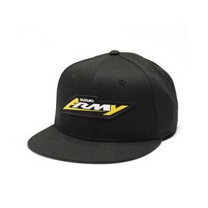 FACTORY EFFEX SUZUKI ARMY YOUTH SNAPBACK HAT /BLACK OS