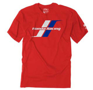 FACTORY EFFEX HONDA STRIPES T-SHIRT / RED