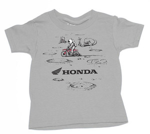 FACTORY EFFEX HONDA NEW TODDLER T-SHIRT / RED