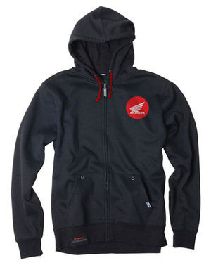 FACTORY EFFEX HONDA BADGE ZIP-UP / BLACK