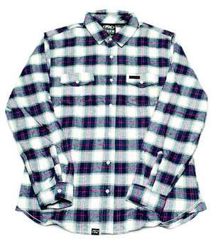 FACTORY EFFEX HONDA FLANNEL / RED-WHITE