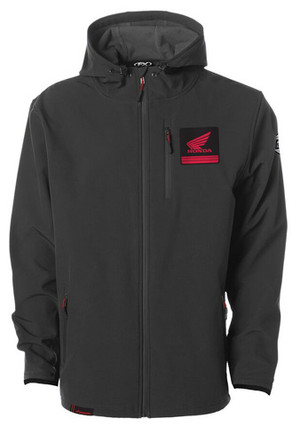 FACTORY EFFEX HONDA SOFT-SHELL JACKET / CHARCOAL