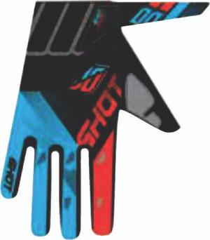 Devo Ultimate Motocross Gloves Black/Neon Orange