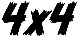4x4 Decal 5