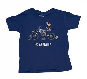 FACTORY EFFEX YAMAHA NEW TODDLER T-SHIRT / BLUE