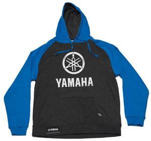 FACTORY EFFEX YAMAHA STACK PULLOVER/ CHARCOAL-ROYAL