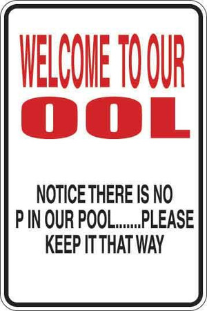 Welcome To Our Ool Sign Decal 1