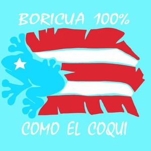 Boricua 100% Decal